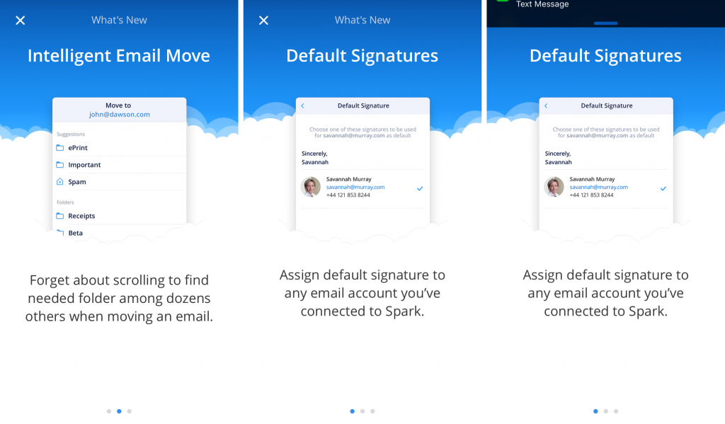 Spark iPhone app - Love your emails
